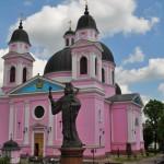 Рожевий Кафедральний собор Чернівців перефарбують