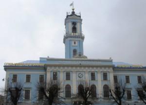 ратуша часы