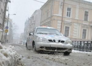 черновцы снегопад