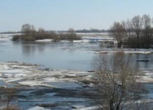 уровень воды весна