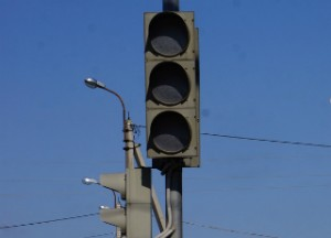 не работает светофор